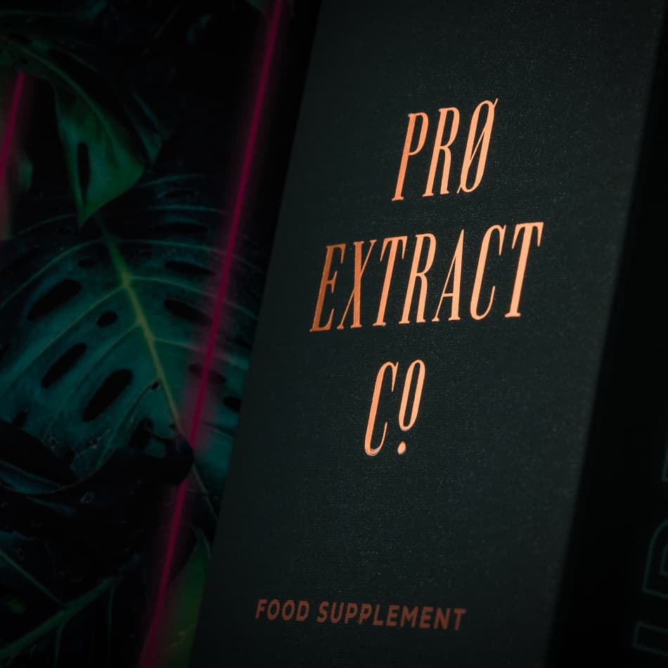 Pro Extract Co CBD product packaging